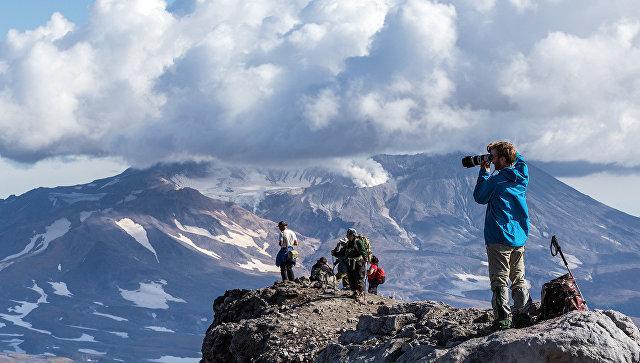 Туристы в горах. Архивное фото