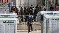 Мигранты на греко-турецкой границе. Архивное фото