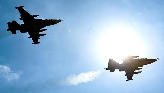 Штурмовики Су-25. Архивное фото