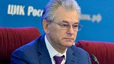 Заместитель председателя Центральной избирательной комиссии Николай Булаев. Архив