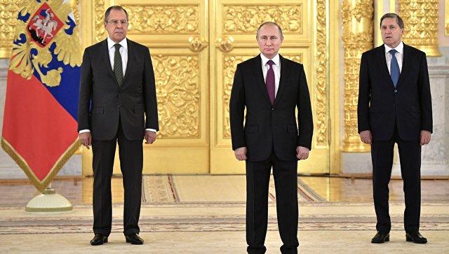 Русские чиновники небудут избегать послов других государств, страшась засвою репутацию