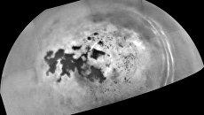 Последняя фотография морей Титана, полученная зондом Кассини