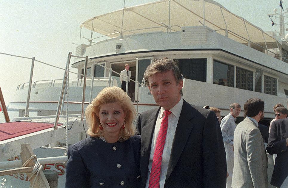 Экс-жена Трампа пишет мемуары овоспитании ихдетей