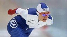 Конькобежный спорт. Анна Юракова. Архивное фото