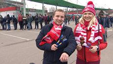 Российские футбольные фанаты испытали ложки победы в действии