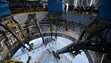 Осмотр стартового комплекса космодрома Восточный в Амурской области. Архивное фото