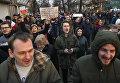 "Участники уличной акции ""Марш нетунеядцев"" в Минске. 15 марта 2017"