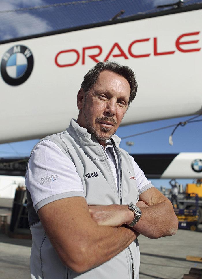 Предприниматель Ларри Эллисон основал компанию Oracle, сделавшую его миллиардером
