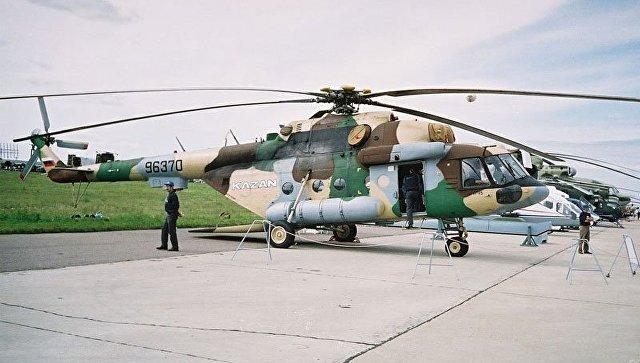 Ми-17-В5  вертолет. Архив