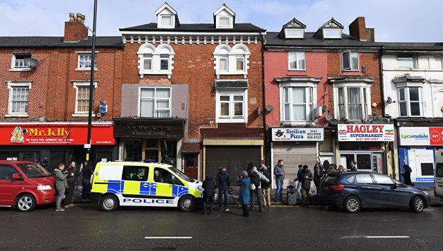 Место проведения антитеррористического рейда в Бирмингеме. Архивное фото