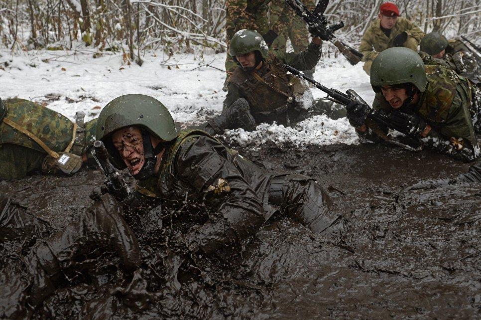 Поздравление губернатора Игоря Рудени сДнем войск государственной гвардииРФ
