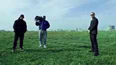 Кадр из клипа группы Грибы на песню Тает Лёд