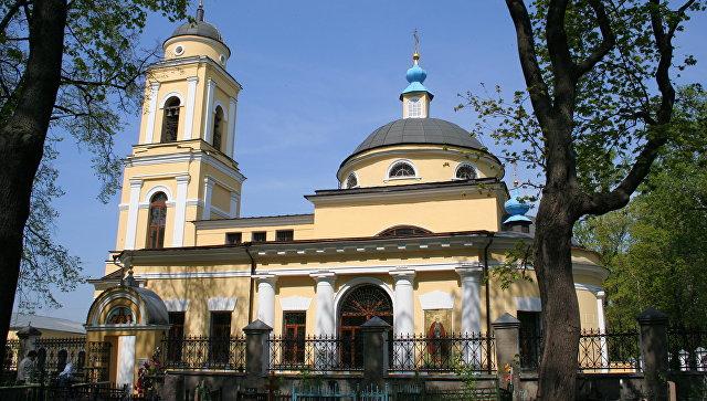 Церковь Веры, Надежды, Любови и Софии на Миусском кладбище. Архивное фото