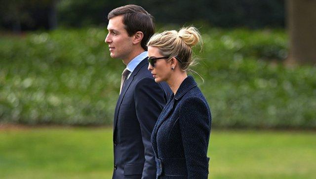 Советник Белого дома Джаред Кушнер и его жена Иванка Трамп. Архивное фото