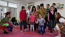 Занятия с детьми, пережившими боевые действия