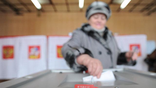 Голосование во время выборов. Архивное фото