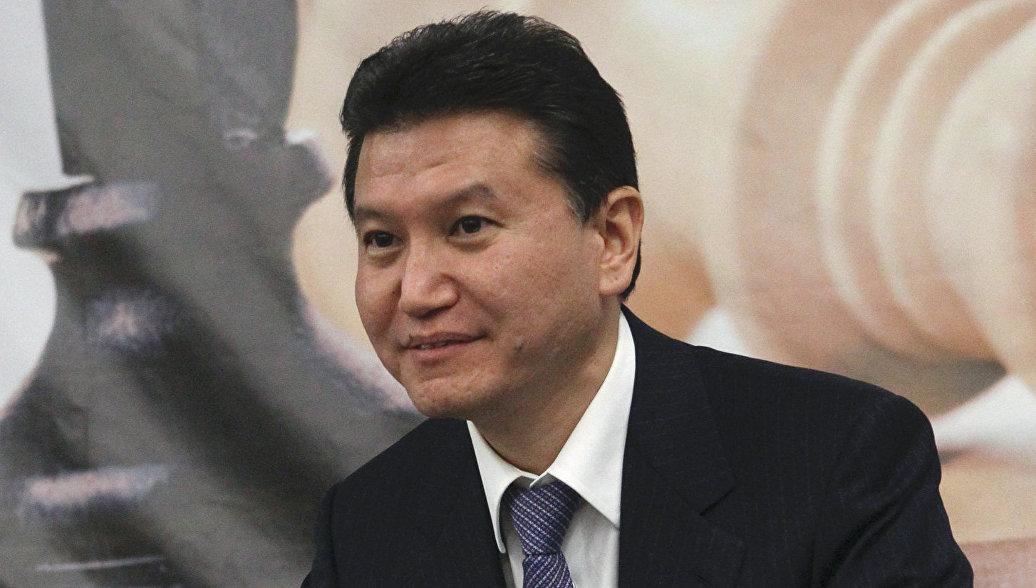 Илюмжинов переизбран на пост главы Международной шахматной федерации