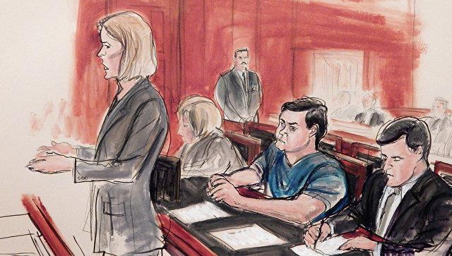 Процесс над Евгением Буряковым, обвиняемым в США в шпионаже в пользу России. Архивное фото