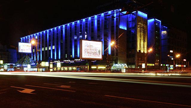 В столицеРФ  здания подсветят синим вподдержку людей саутизмом
