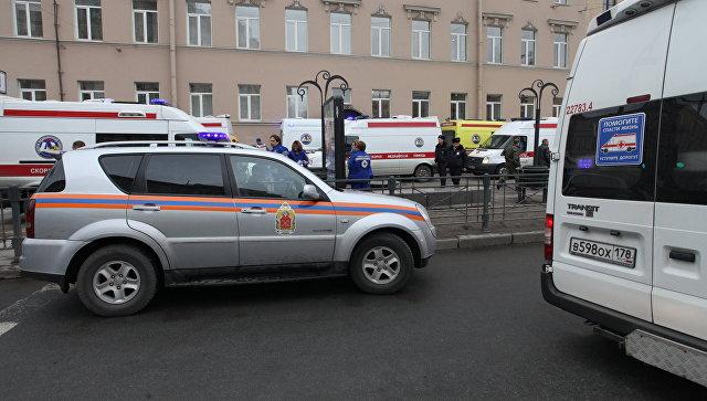 ВМИД Украины выразили сожаления всвязи свзрывом вПетербурге