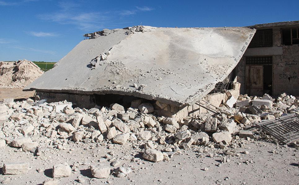 Десятки погибших в итоге использования хлорного газа сирийским режимом