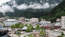 Столица штата Аляска город Джуно. Архивное фото