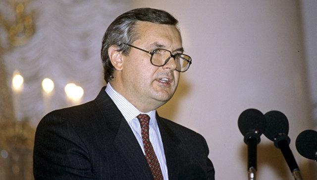 Бывший министр иностранных дел Латвии Янис Юрканс. Архивное фото