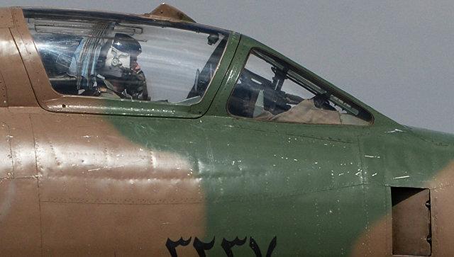 Сирийское минобороны заявило осбитом коалицией самолете ВВС САР