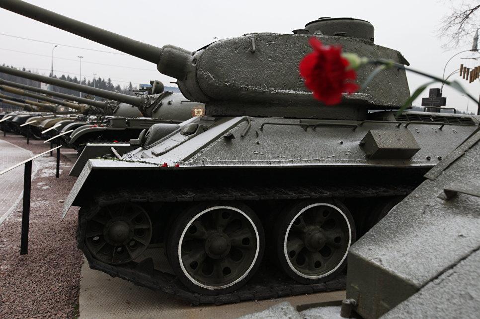 ВЭстонском авиационном музее выставят танк Т-34-85 производства «Уралвагонзавода»