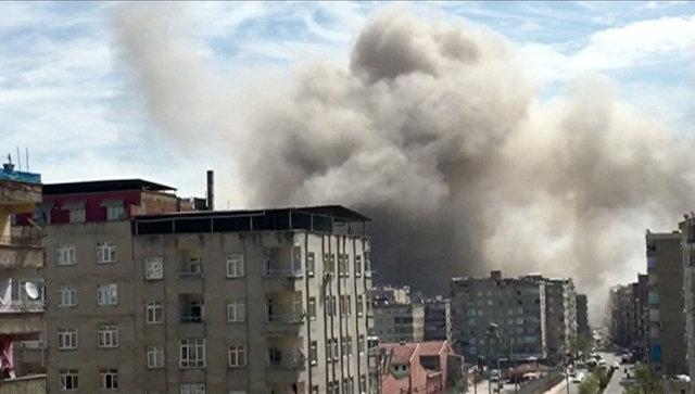 Наюге-востоке Турции произошел взрыв