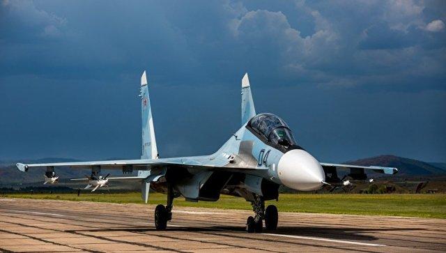 ВМФ получит два Су-30 СМвконце апреля
