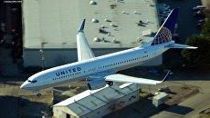 Самолет Boeing 737 компании United Airlines. Архивное фото