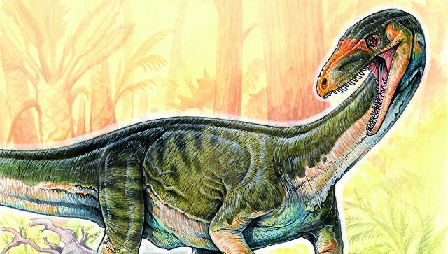 Ученые: первые динозавры ходили начетырех ногах