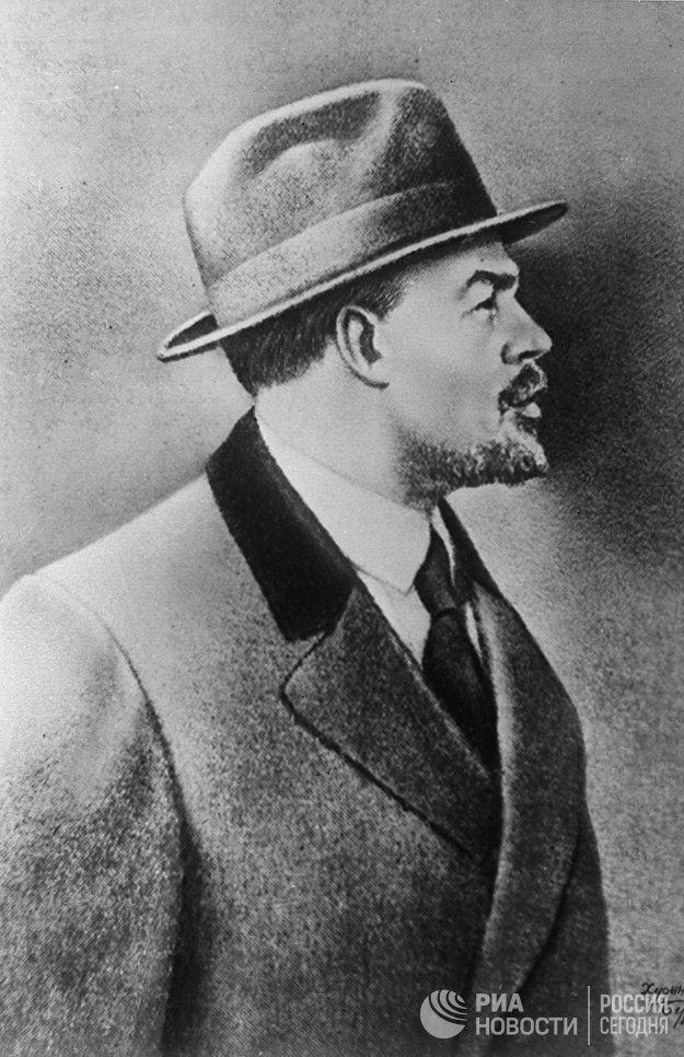 Владимир Ильич Ленин в Стокгольме. 1917 год