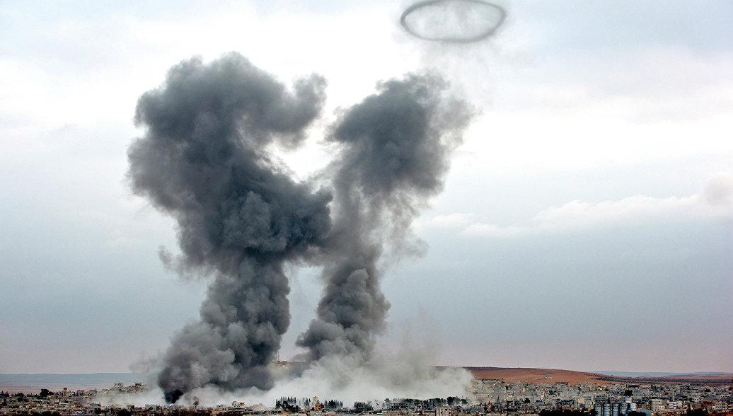 США и союзники за сутки нанесли 20 ударов в Ираке и пять в Сирии