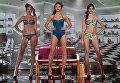 Дефиле Красотка на выставке модного белья, купальников и домашней одежды Lingerie Fashion Week весна 2017