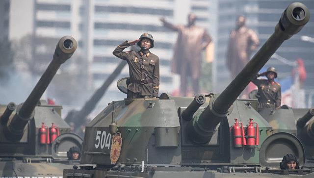 СМИ: КНДР провела крупнейшие артиллерийские учения