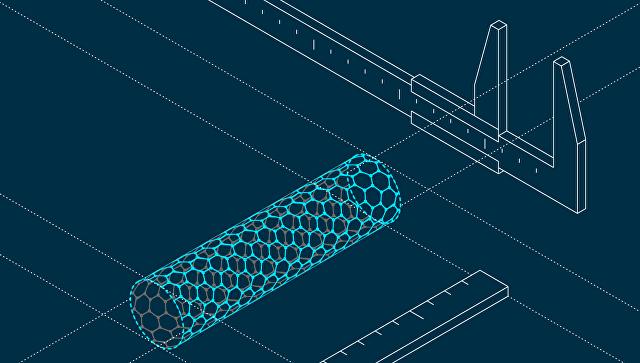 Ученые МФТИ выдумали  способ измерения размеров нанотрубок врастворе