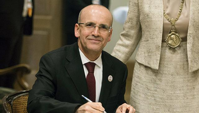 Министр финансов Турции Мехмет Шимшек. Архивное фото