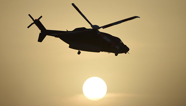 В Аравийском море потерпел крушение вертолет с нефтяниками на борту