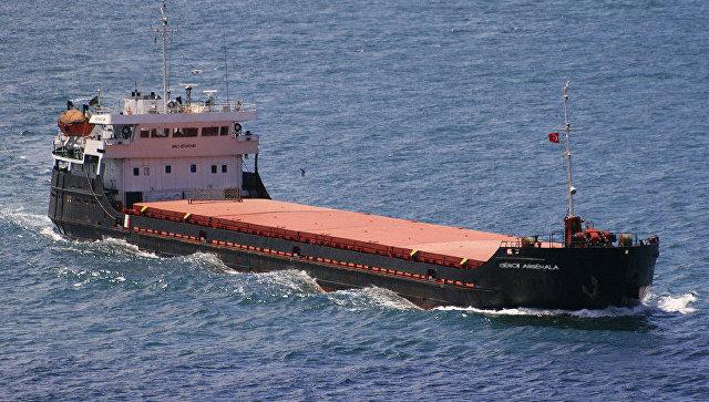 Судно с зерном для Турции затонуло у берегов Крыма