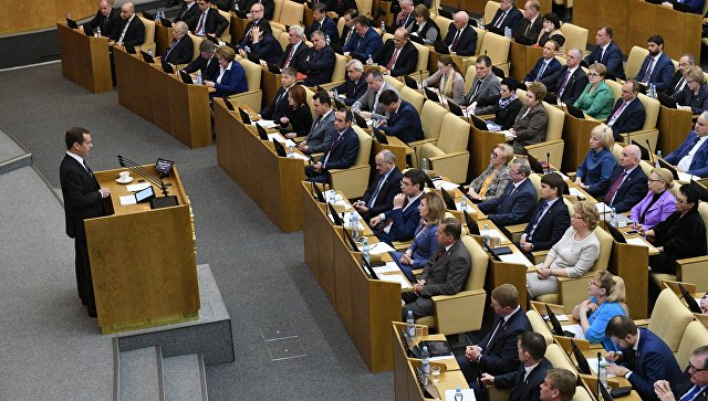 Медведев попросил депутатов Госдумы активнее заниматься законопроектами