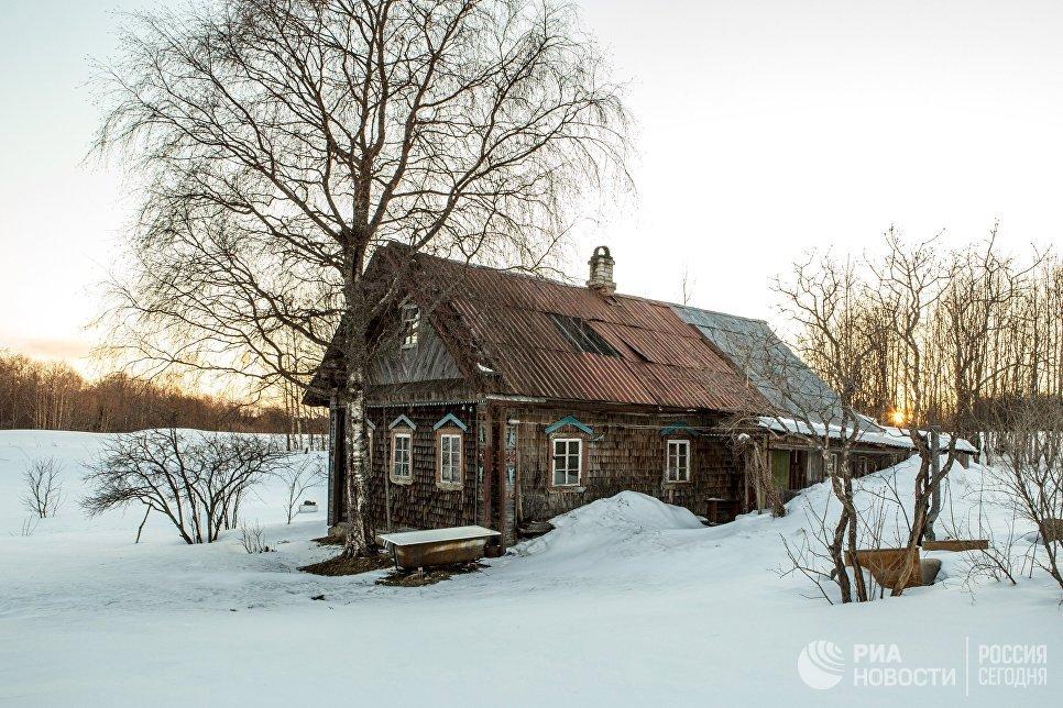 Жилой дом деревне Терусельга Пряжинского района Карелии