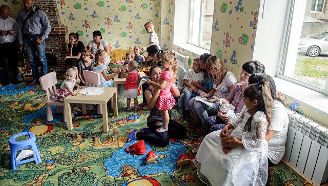 В Доме для мамы, открытом при Новосибирской епархии
