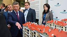 Заместитель председателя правительства РФ Дмитрий Козак на выставке инвестиционных проектов на Ялтинском международном экономическом форуме в Крыму. 21 апреля 2017