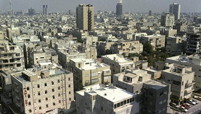 Вид на город Тель-Авив. Архивное фото.