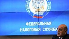 Руководитель ФНС РФ Михаил Мишустин. Архивное фото