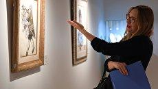 На выставке топ-лотов произведений русского искусства в преддверии аукциона, который состоится в Лондоне 5 июня