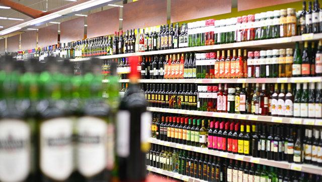 Магазин с алкогольной продукцией. Архивное фото