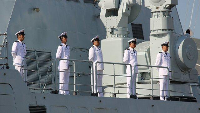 Российско-китайские учения Морское взаимодействие. Архивное фото